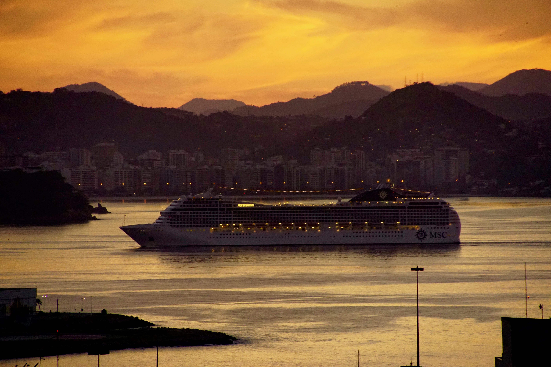 MSC fährt in Rio ein