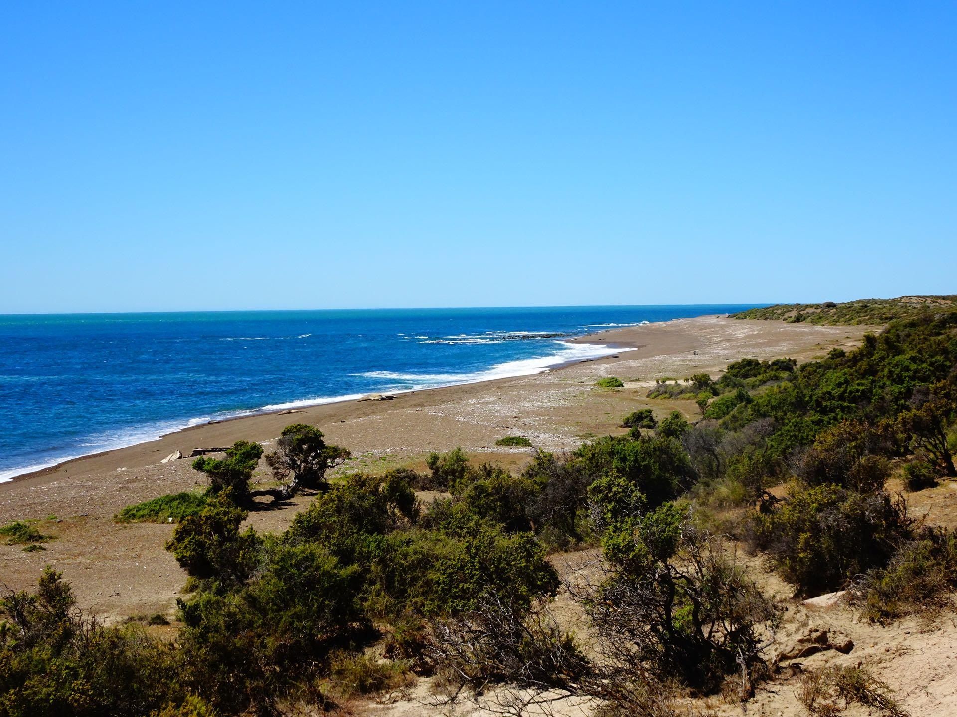 Bucht beim Punta Norte