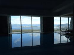 Blick vom Pool