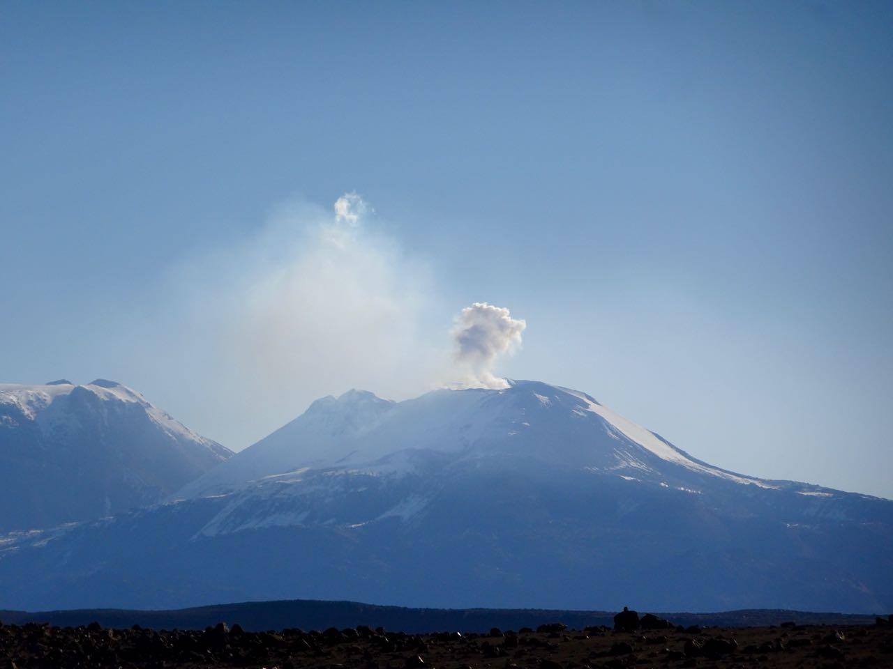 Vulkan Sabancayo 5976 m