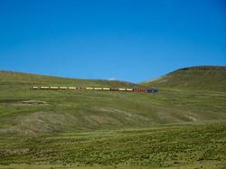 Zug übers Altiplano