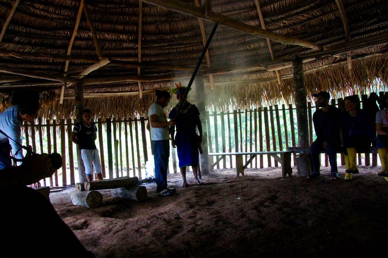 Das Blasrohr - die Alltagswaffe der Ureinwohner