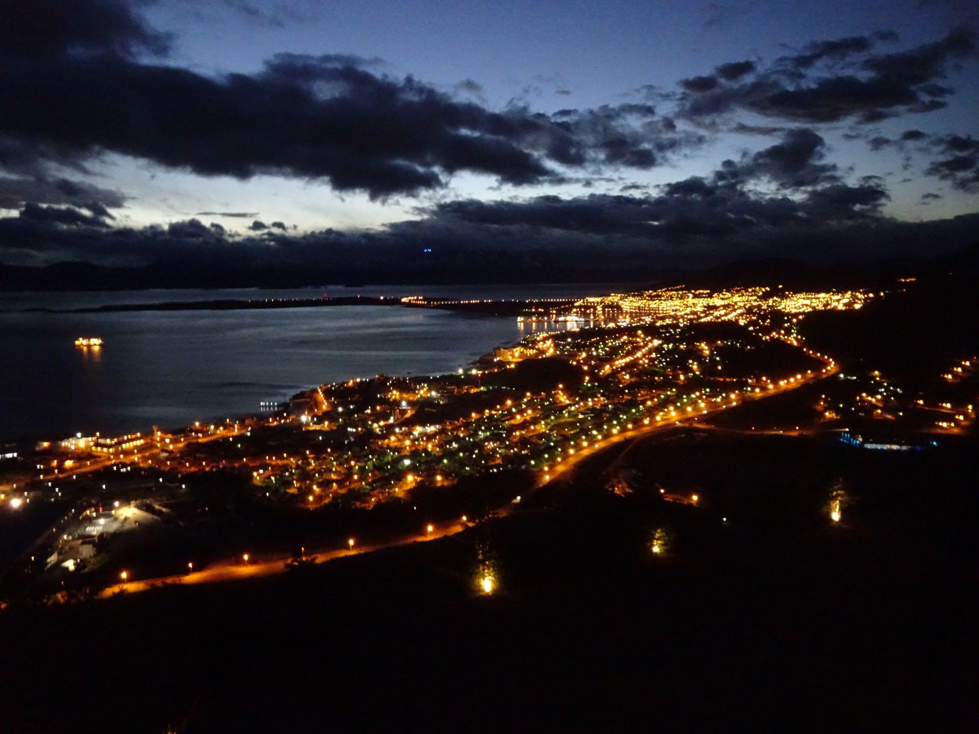 Ushuaia by night