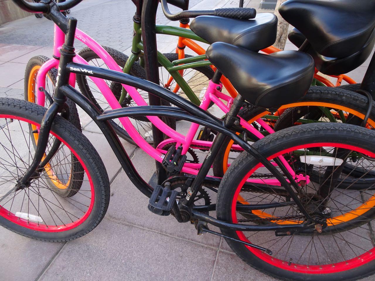 Auch Fahrräder sind hier cooler!