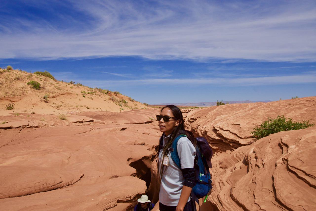 Tana, die sehr nette Navajo