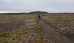 Wandern im Pali Aike