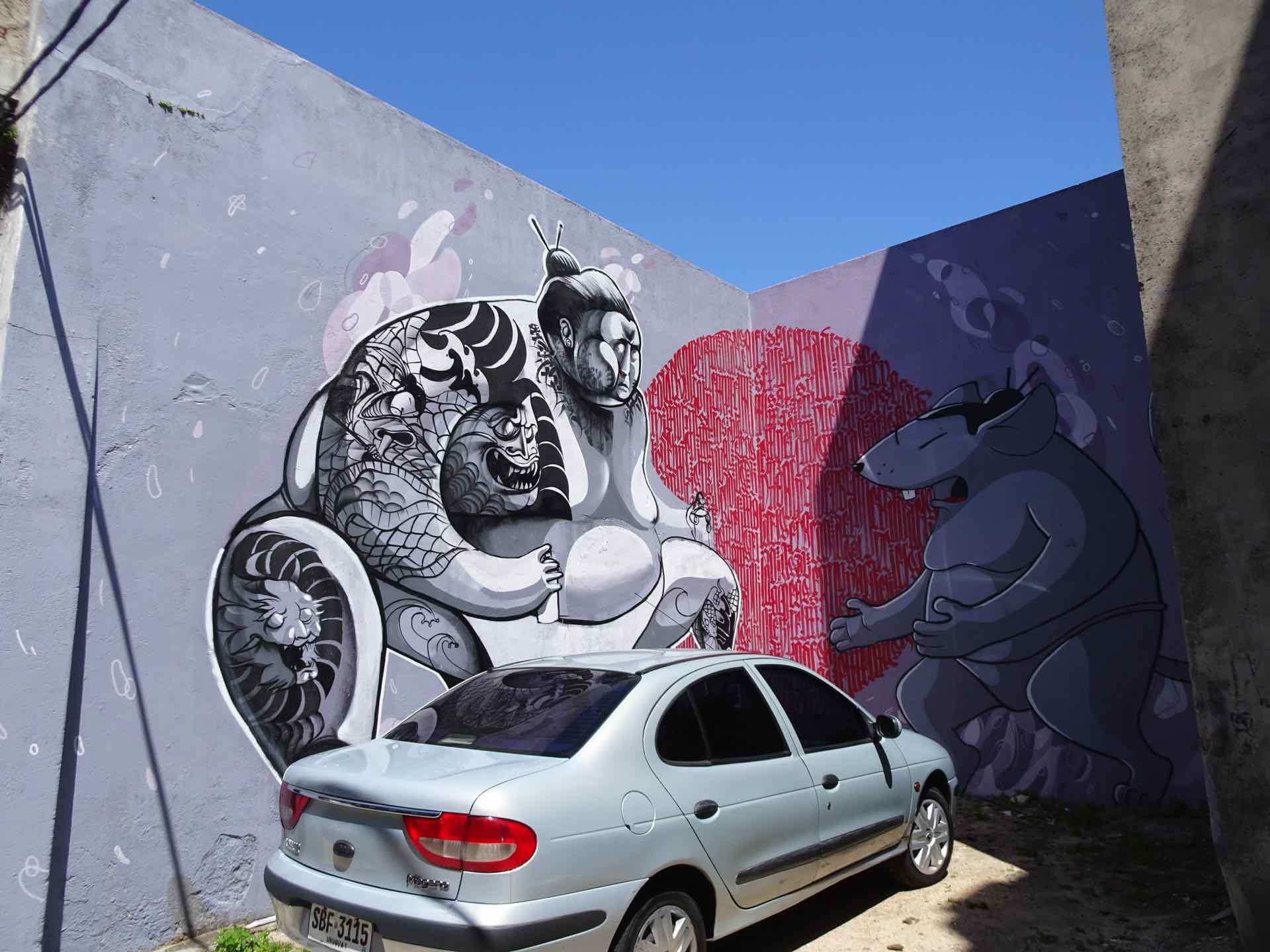 Wandmalerei einmal anders