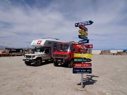 Parkplatz beim Salzsee
