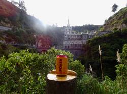 Erstes Bierchen in Kolumbien