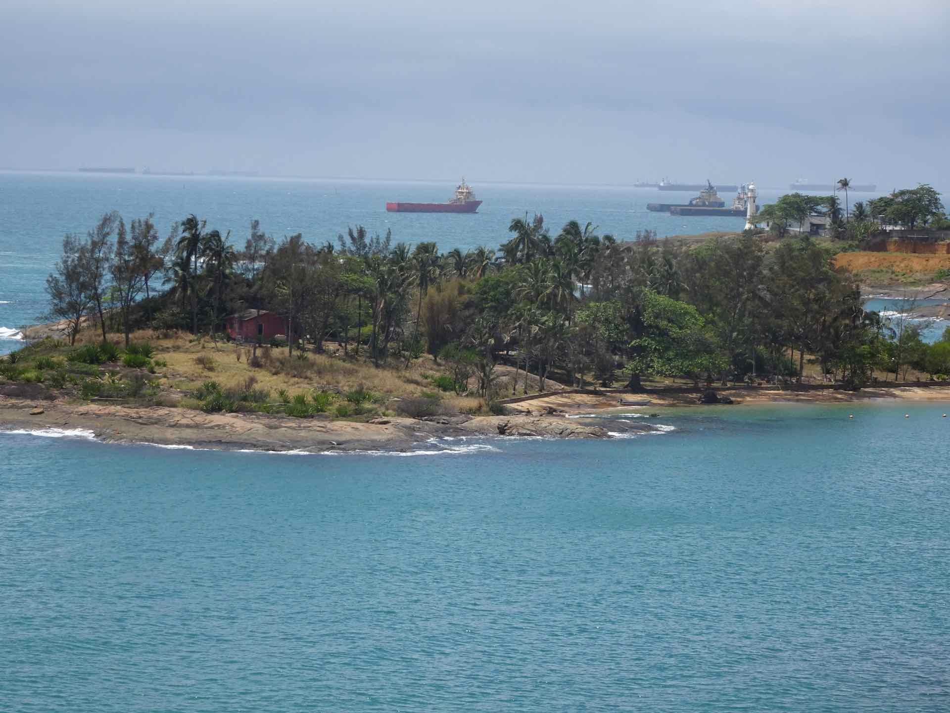 Fischerinsel vor Vitoria