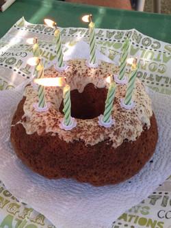Mein Geburtstagskuchen von Helga und Helmut