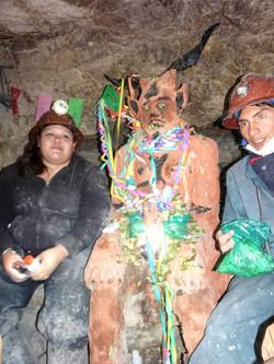 Die Guides mit dem Teufel