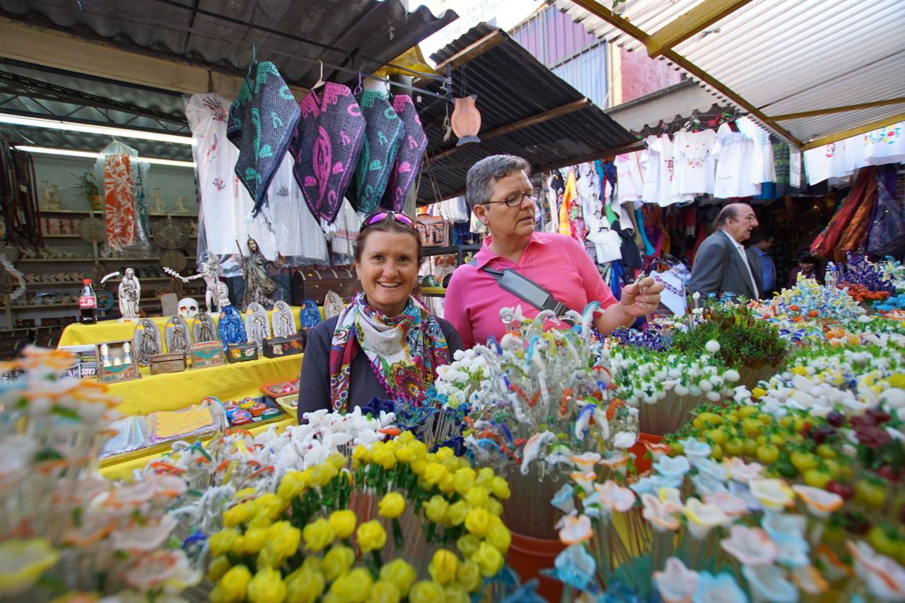Staunen auf dem Markt
