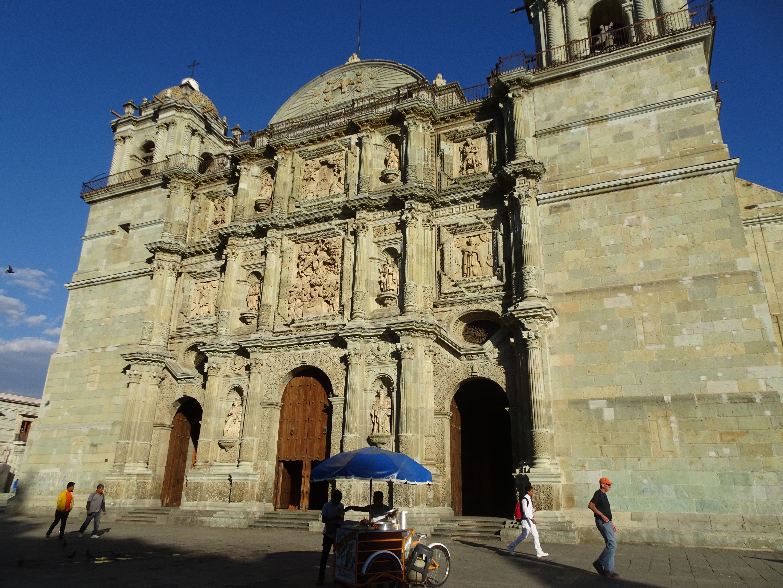 Die Kathedrale von Oaxaca