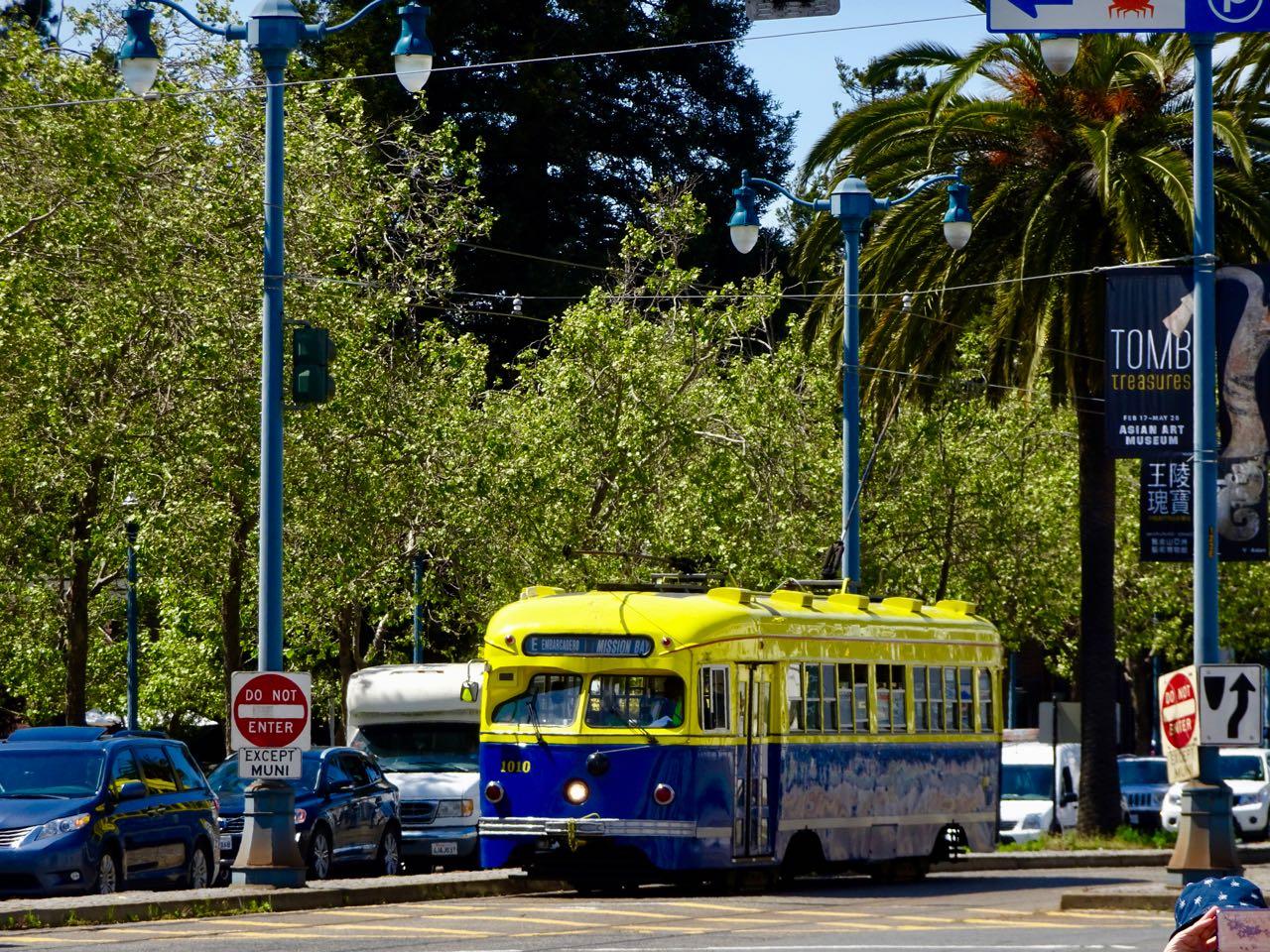 Strassenbahn in SF