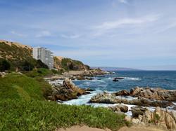 Picknickplatz an der Küste