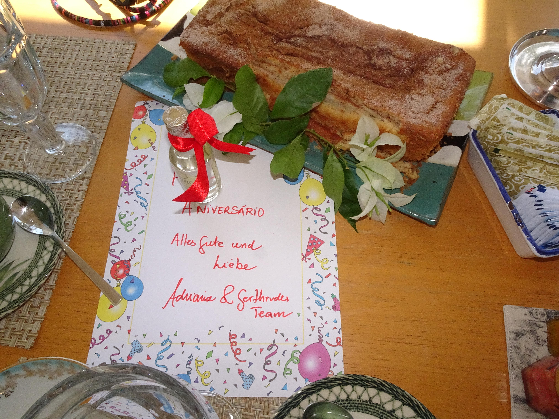 Geburtstag! Cachaça zum Frühstück