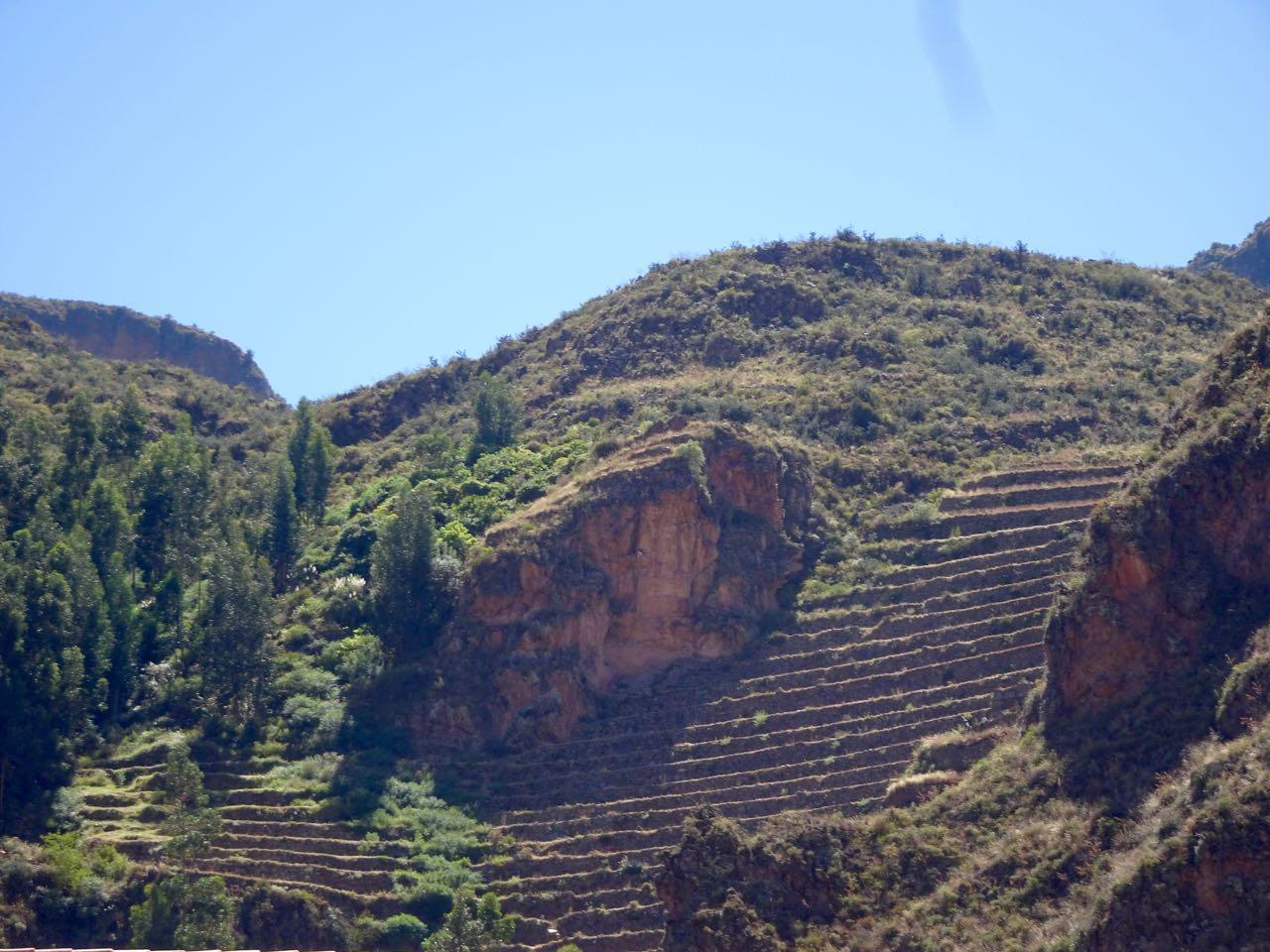 Terrassen für die Landwirtschaft