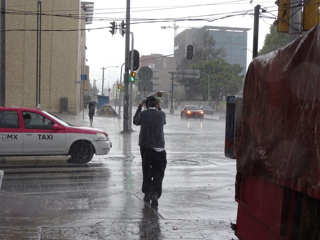 ...und immer wieder mal Regen !
