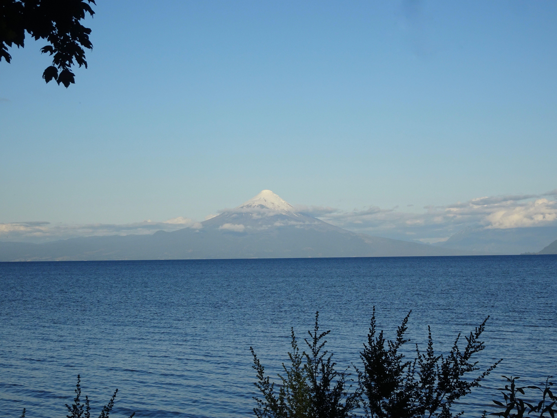 Vulkan Osorno am Lago Llanquihue