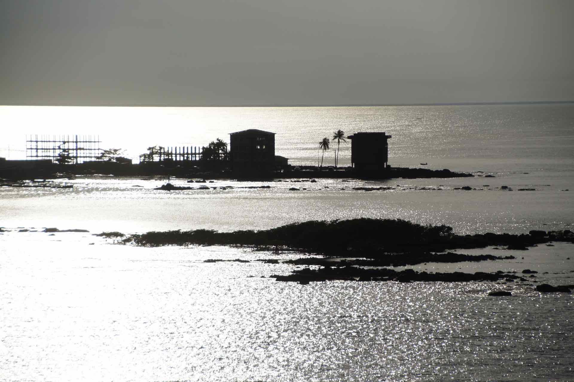 Inseln vor dem Hafen von Dakar
