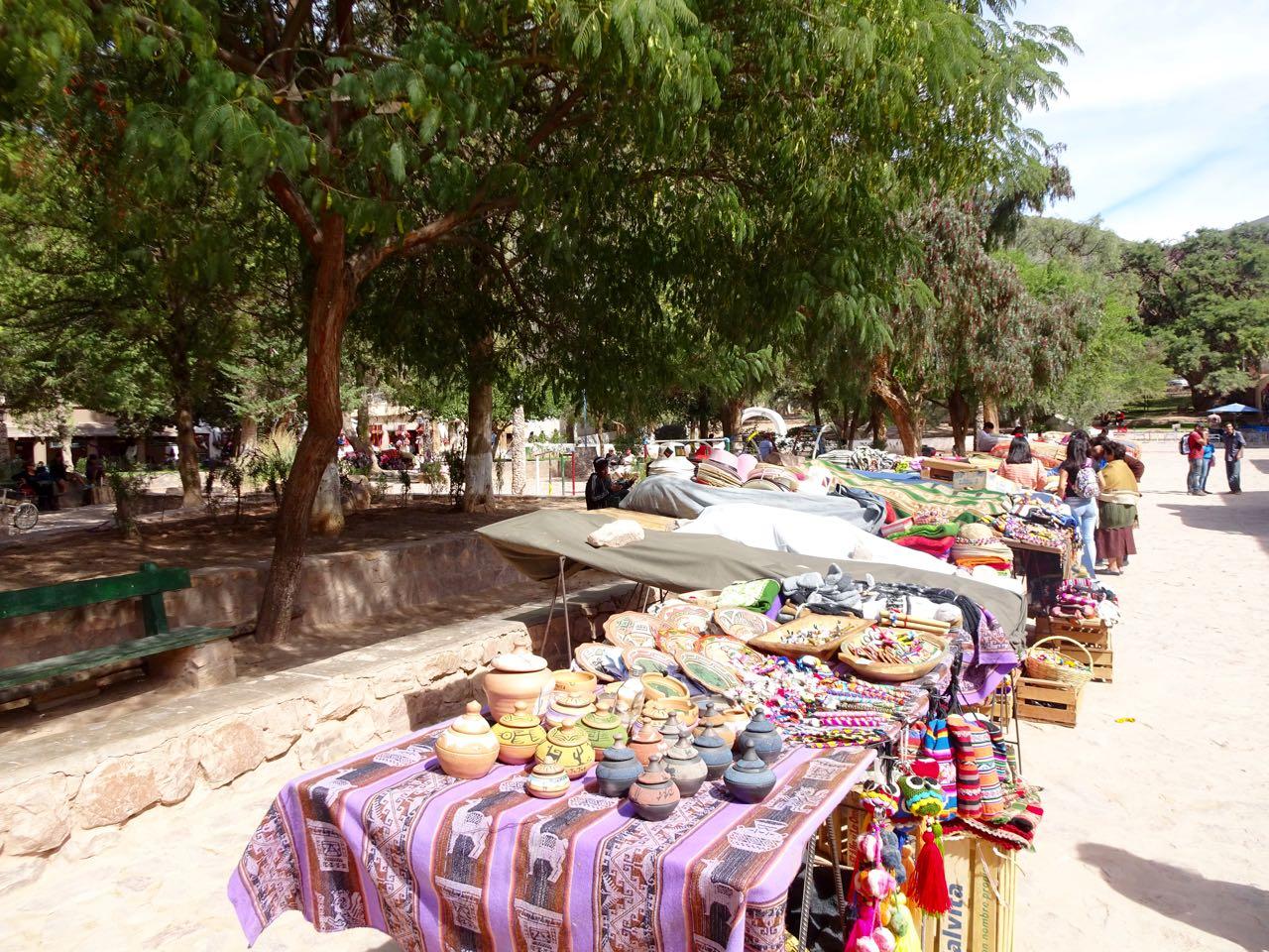 Markt wie in Bolivien