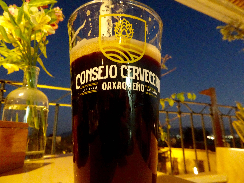 Hausgemachtes Bier aus Oaxaca