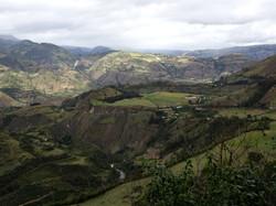 Ecuador vor der Grenze