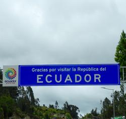 Adios Ecuador!
