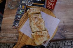 Speck, Chorizo, Knoblauchoel - fein!