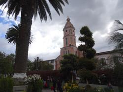 Die Kirche von Otavalo