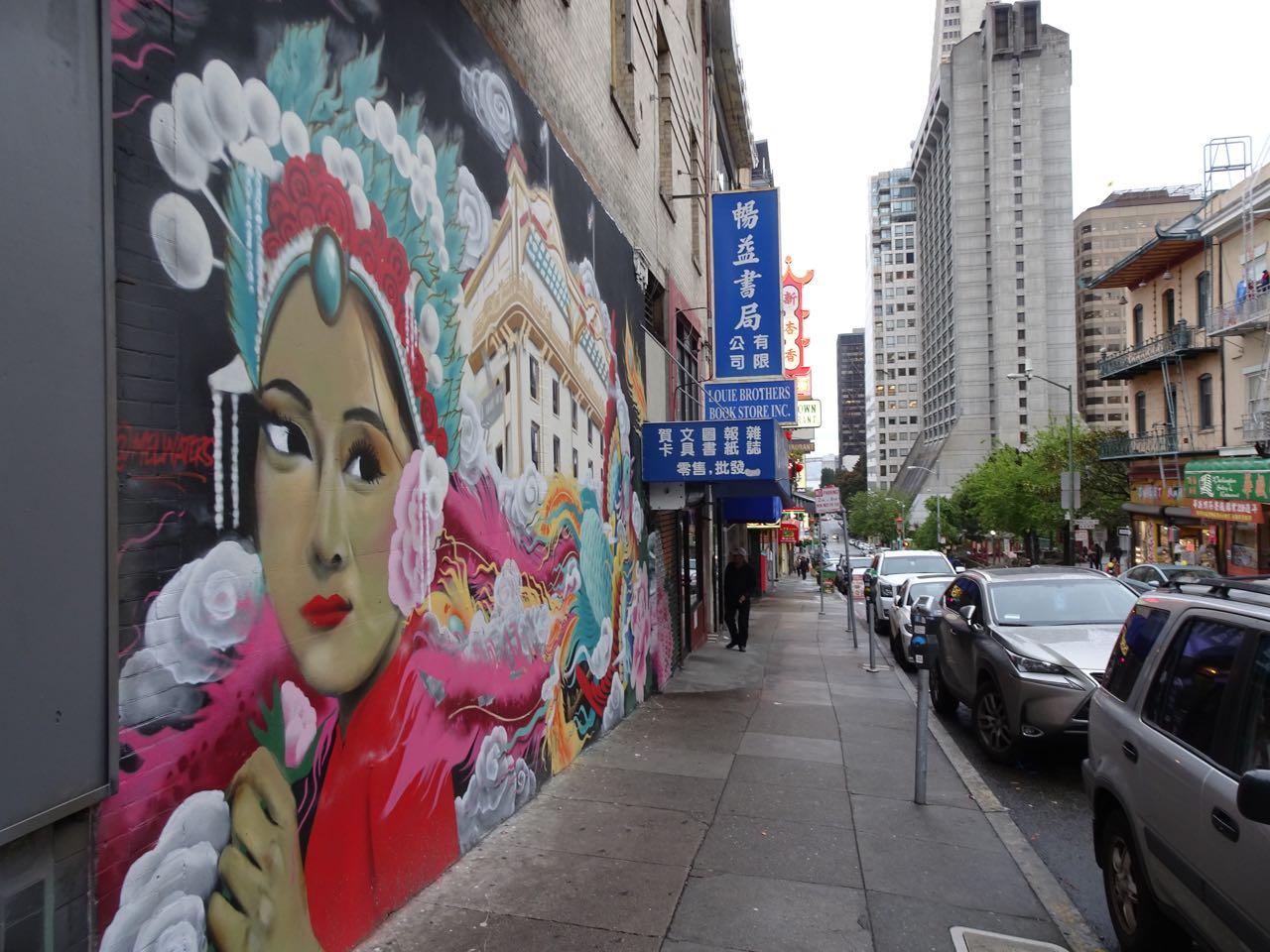 Street Art in Chinatown
