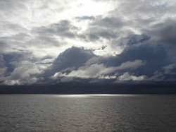 Die Wolken reissen auf