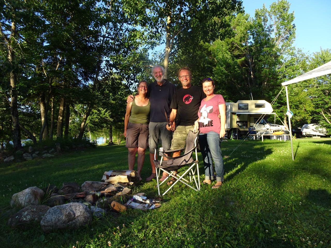 Mit Sylvia & Richard - Danke, hat Spass gemacht!