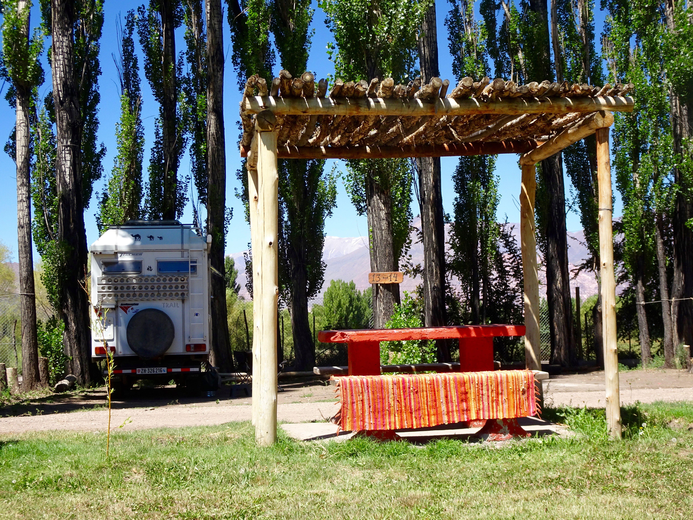 Camping Uspaillata