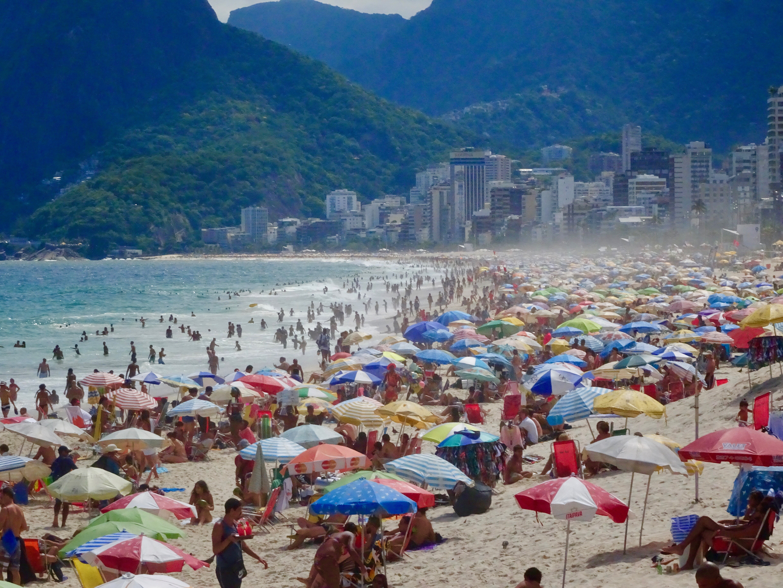 Copacabana am Sonntag