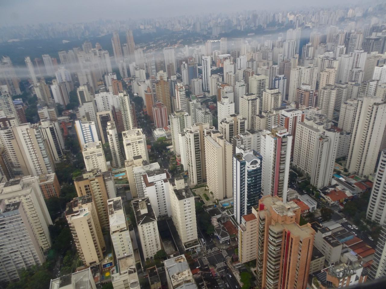 Anflug auf São Paulo