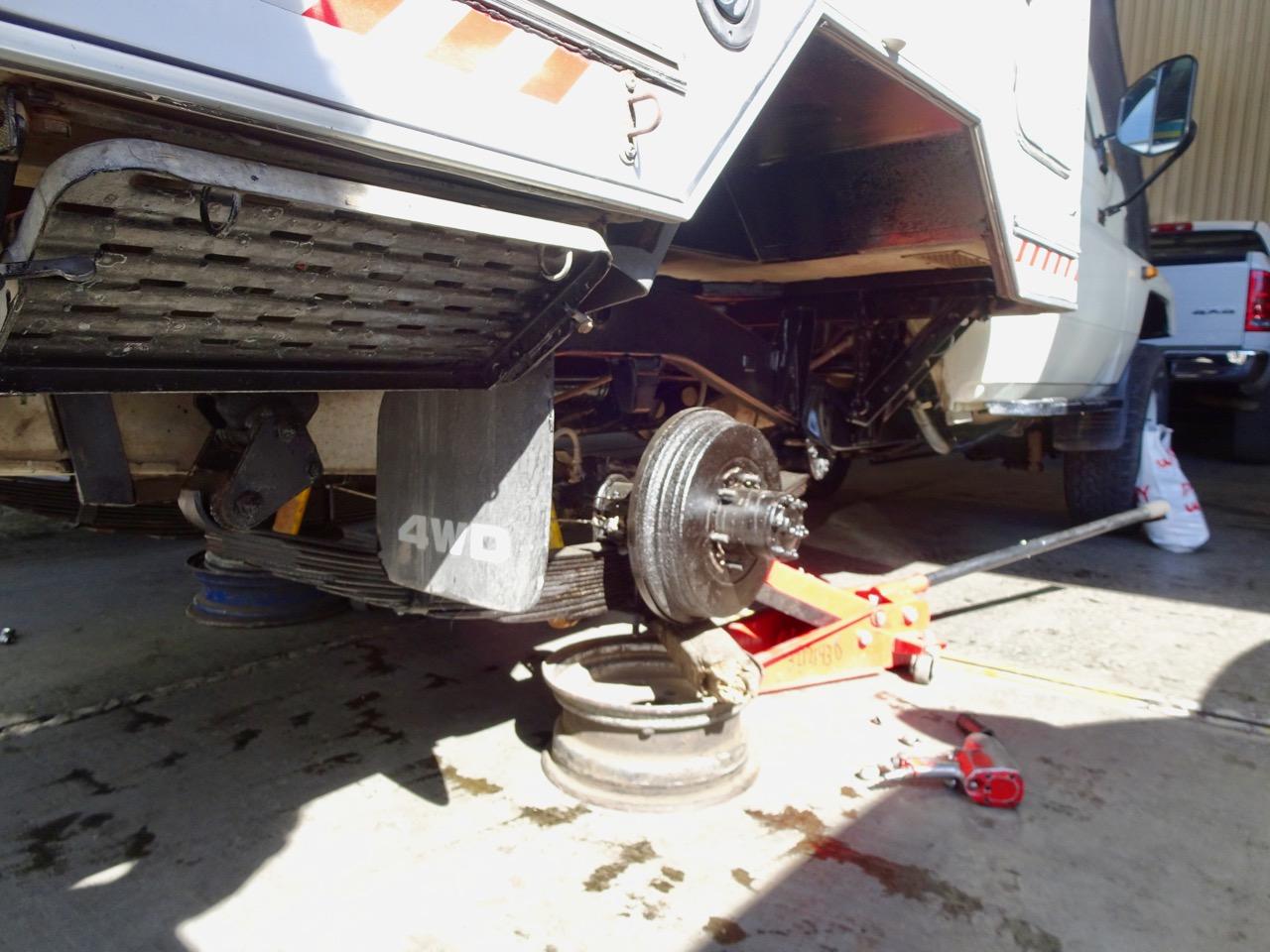 Ventilwechsel auf allen Reifen