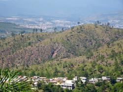 Blick auf Tegucigalpa - Hauptstadt