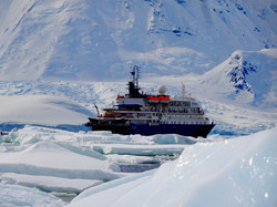 Sea Spirit im Eis