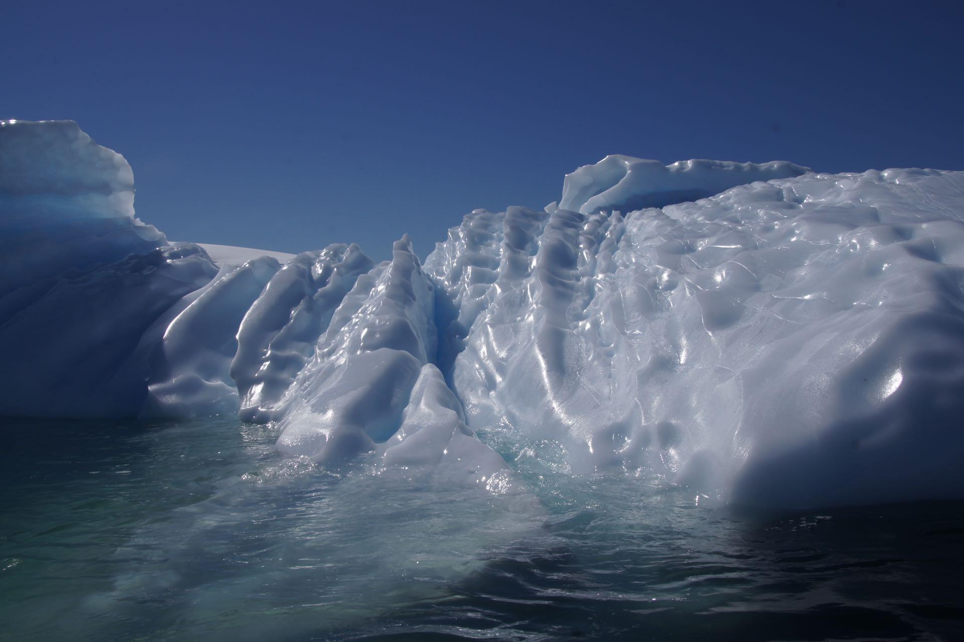 Und noch mehr Eis