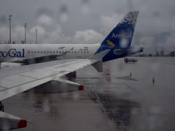 Regen in Quito