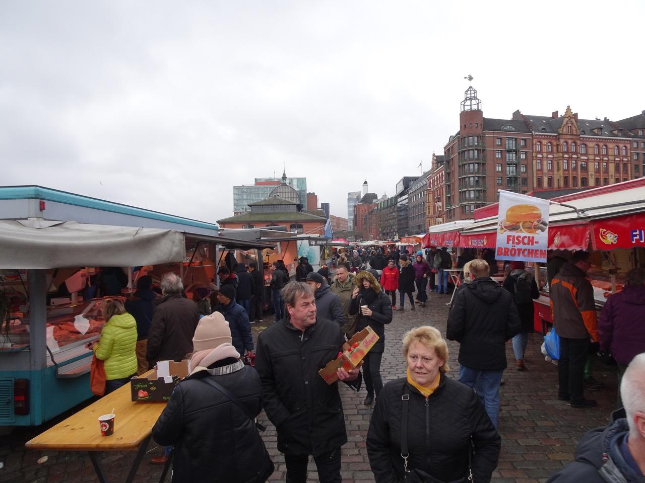 Sonntag Fischmarkt