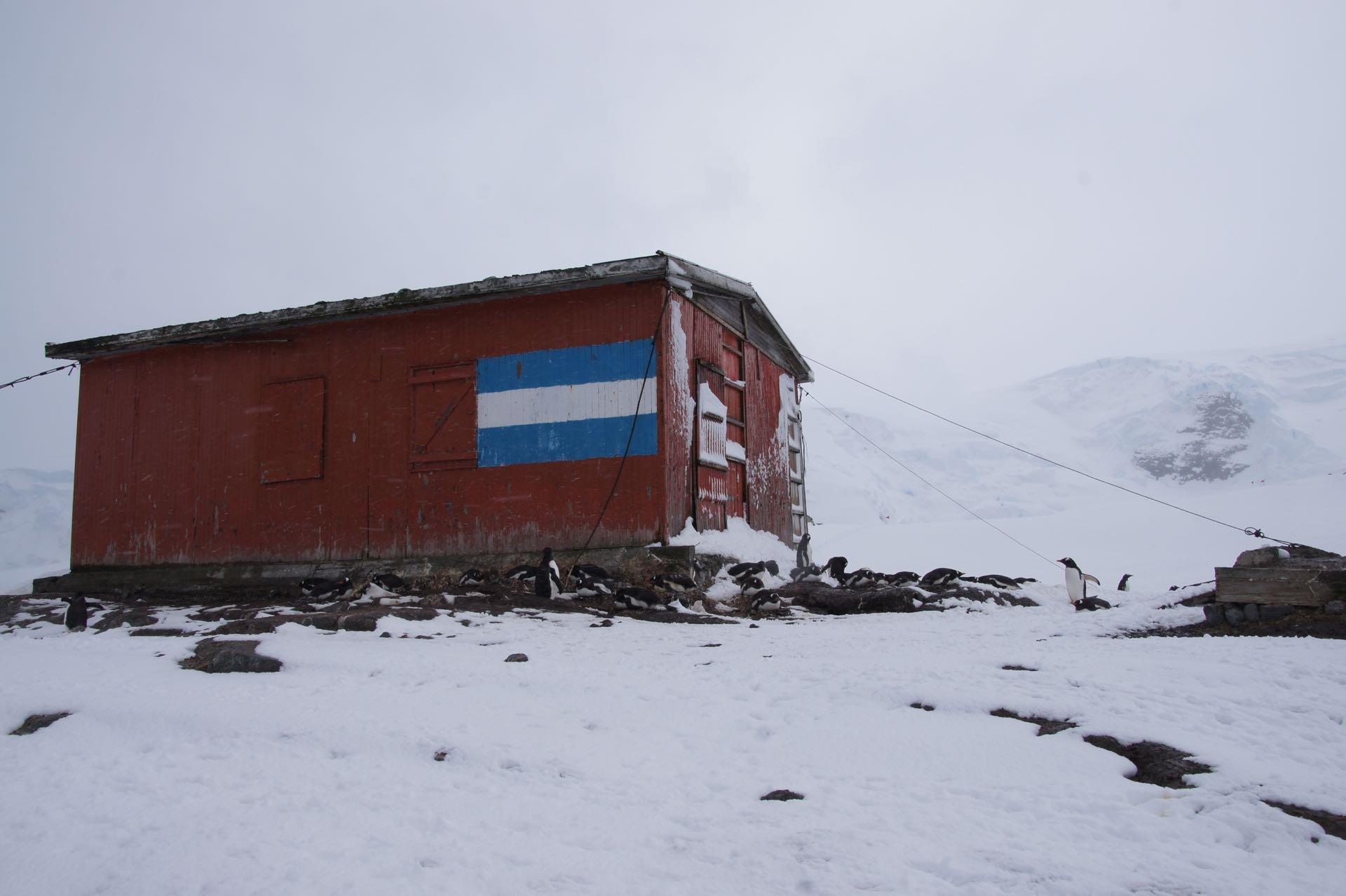 Argentinische Forschungsstation