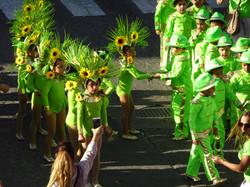 Kinderumzug am Carneval