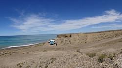 Bucht bei Caleta Olivia