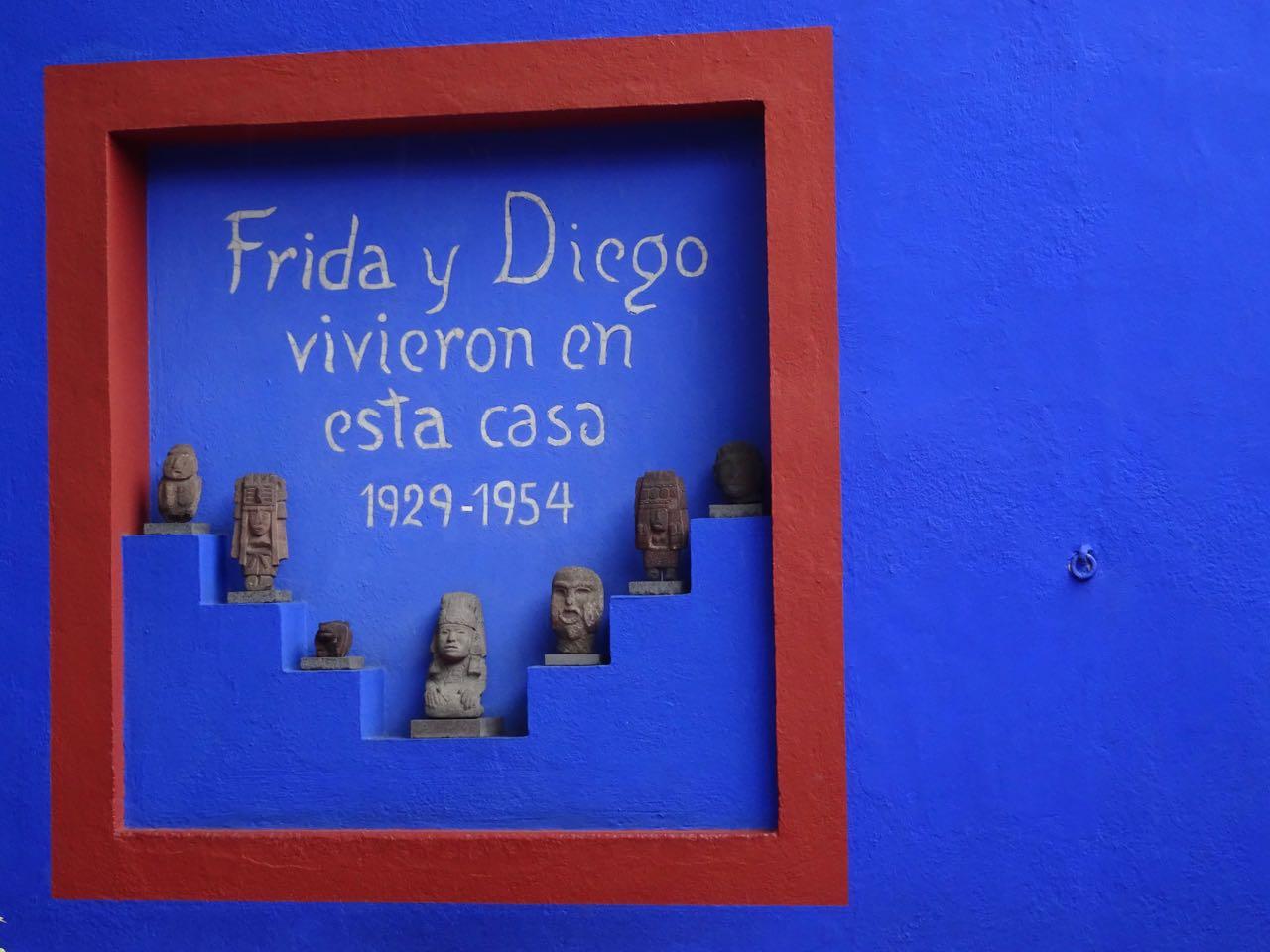 Heim von Kahlo & Rivera heute Museum