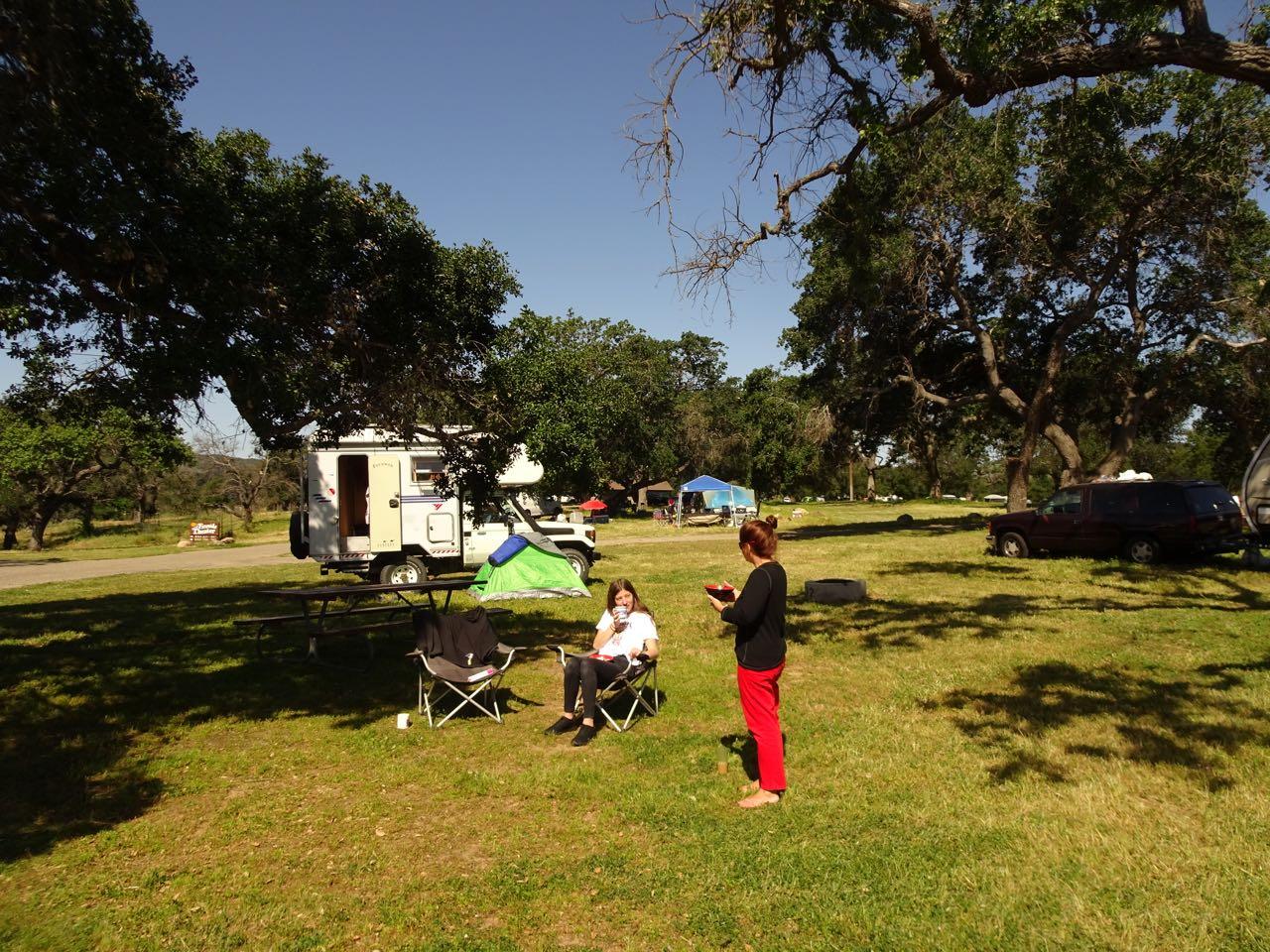 Toller Camping am Lake Cachuma