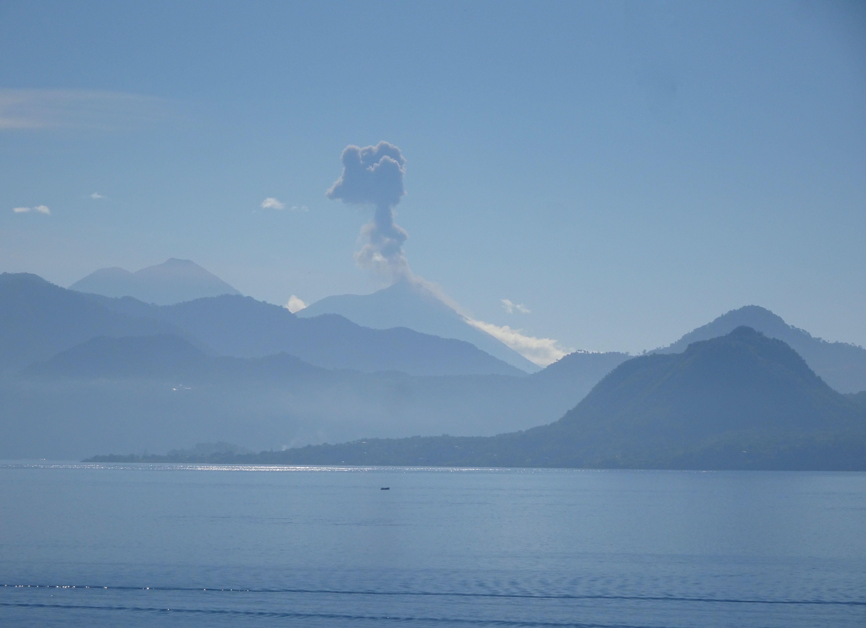 Eruption am Vulkan Fuego