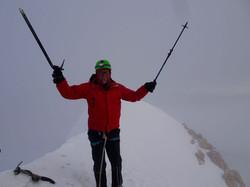 Auf 6088 m bei Schneesturm und -15 Grad